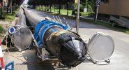 Svařování potrubí D 560