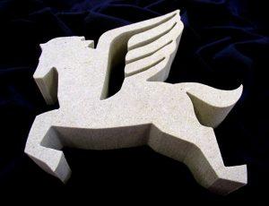 Reliéf z kamene - Pegas.