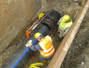 Svarovani potrubi v průměru nad 400mm